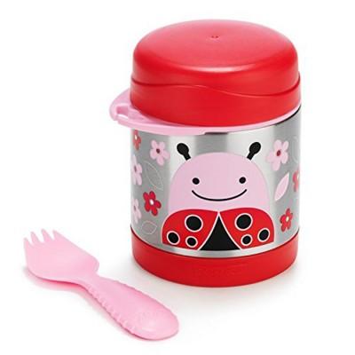 Skip Hop Food Jar Ladybug