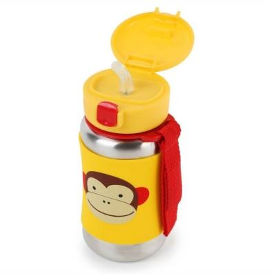 SS Straw Bottle-Monkey