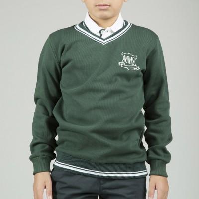 MMS N. Green Pullover V...