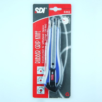SDI Rubber Grip Knife 18 mm