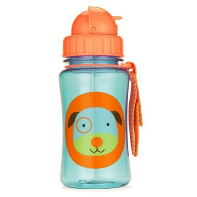 Zoo Straw Bottle - Dog