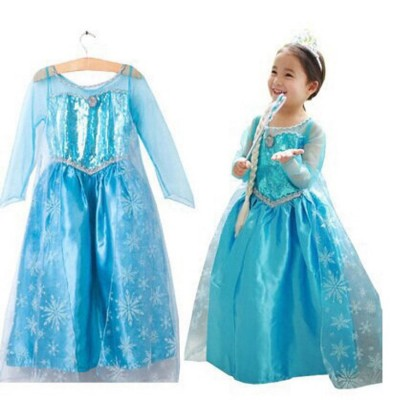 Fairy Princess Blue Costume