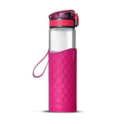 Glass Bottle - Pink