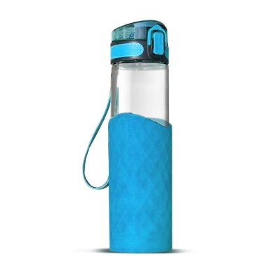 Glass Bottle - Blue