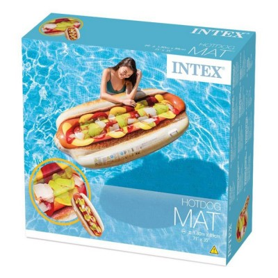 Intex Giant Hotdog Mattress