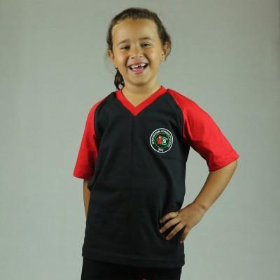 ICS Red PE T-Shirt