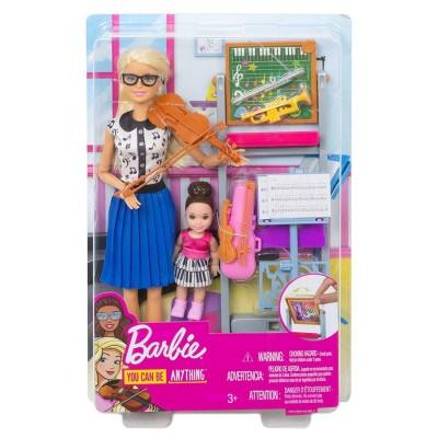 Barbie Music Teacher Doll &...