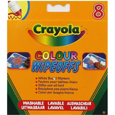 Crayola Wipeoffs White...