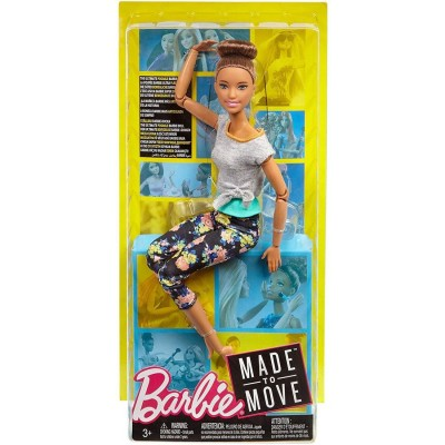 Barbie Made to Move Doll,...