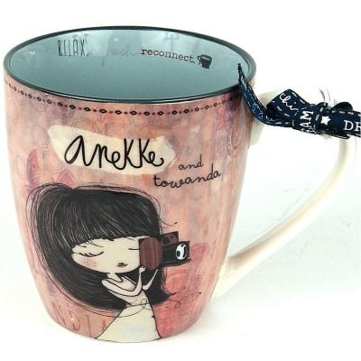 Anekke India Porcelain Mug
