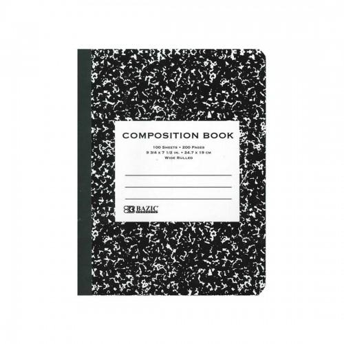 BAZIC 100 sheet Black Marble...