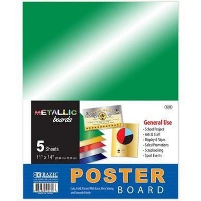 BAZIC Metallic Poster Board...