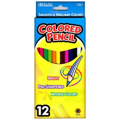 BAZIC 12 Color Pencil