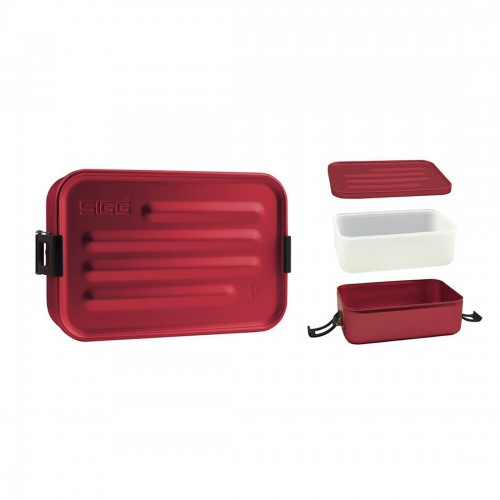Sigg Metal Lunch Box Plus Small Red
