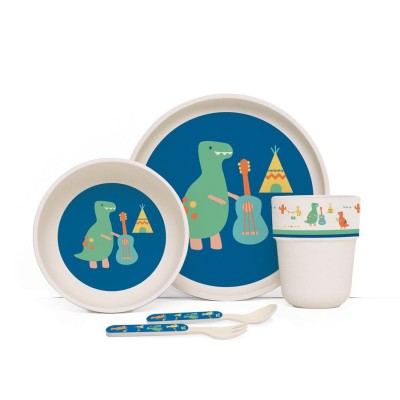 Penny Bamboo Meal Set with...