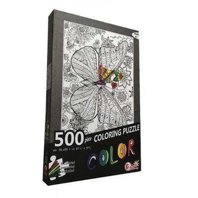 Coloring Puzzle 500 Pieces...