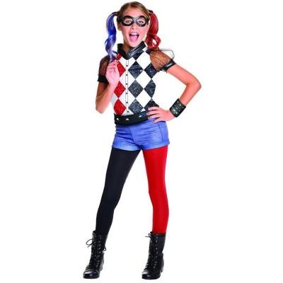 Harley Q Costume Girl Small