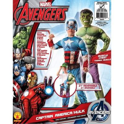 Hulk & Captain America Boy...