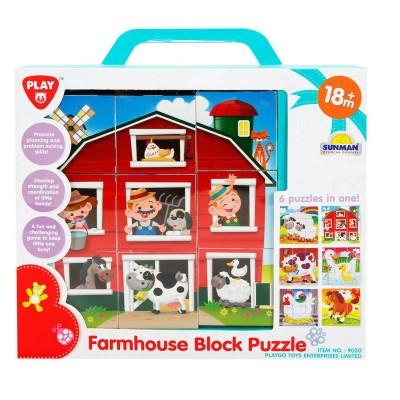 PlayGo Farmhouse Block...