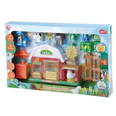 PlayGo Busy Farm Life