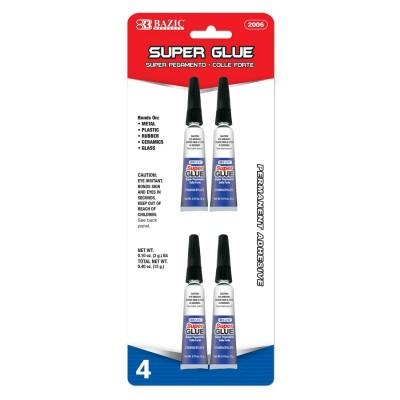 BAZIC 3g Super Glue Set of 4