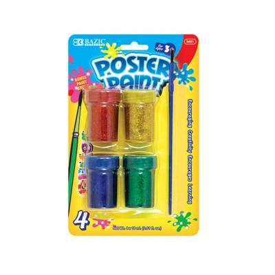 BAZIC 4 Color 18ml Glitter...
