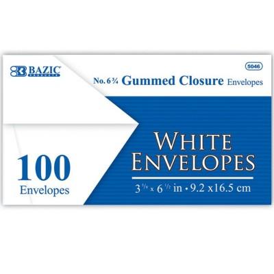 BAZIC White Envelope with...