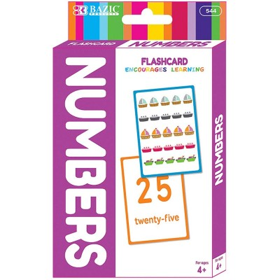 BAZIC Numbers Flash Cards -...
