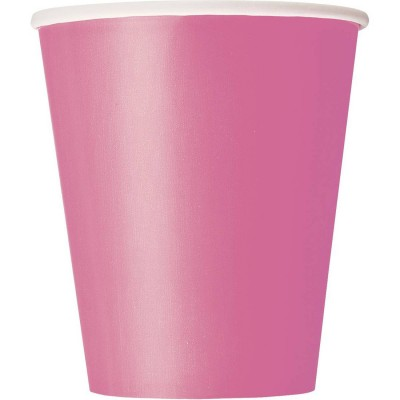 Paper Cup 10 Pieces - Pink