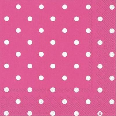 Napkins 20 Pieces - Hot Pink