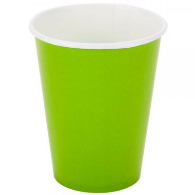 Paper Cups 10 Pieces - Lime...
