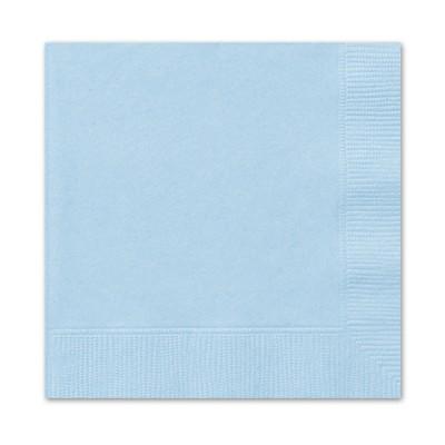 Napkins 20 Pieces - Light Blue