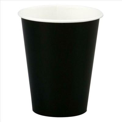 Paper Cups 10 Pieces - Black