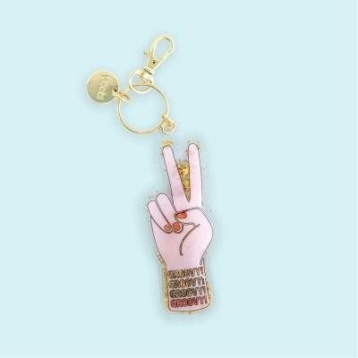 Yoobi Keychain Groovy Hand...