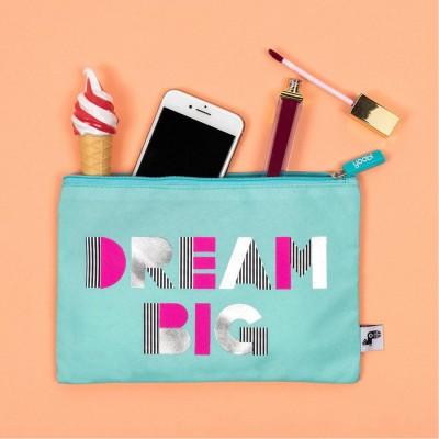 Yoobi Zip Pouch- Dream Big