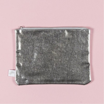 Yoobi Zip Pouch - Silver