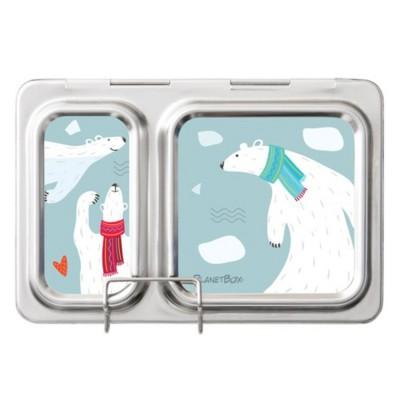 Planet Box Magnet - Polar Bear
