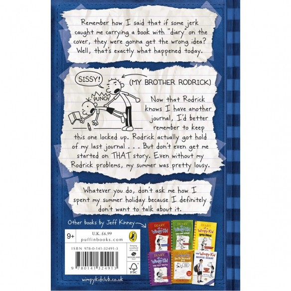 Order Diary Of A Wimpy Kid Rodrick Rules Puffin Delivered To Your Home The Outfit
