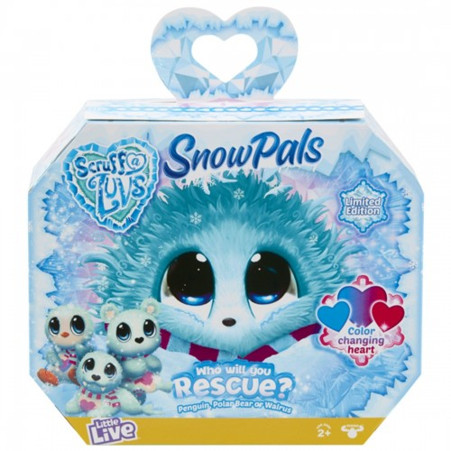 Scruff A Luvs Surprise Plush Snow Pals