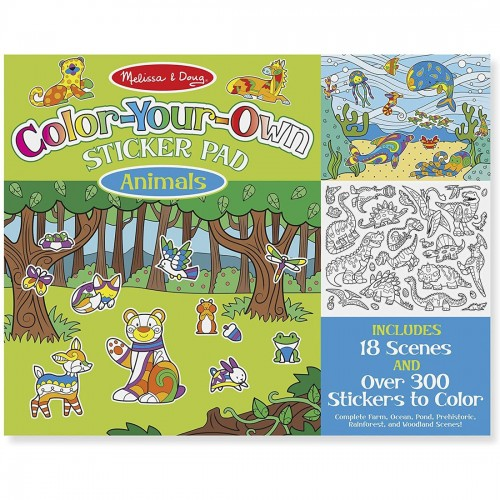 Melissa & Doug Color Your Own Sticker...