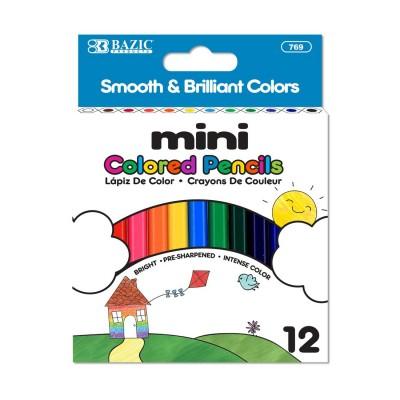 BAZIC 12 Mini Color Pencil