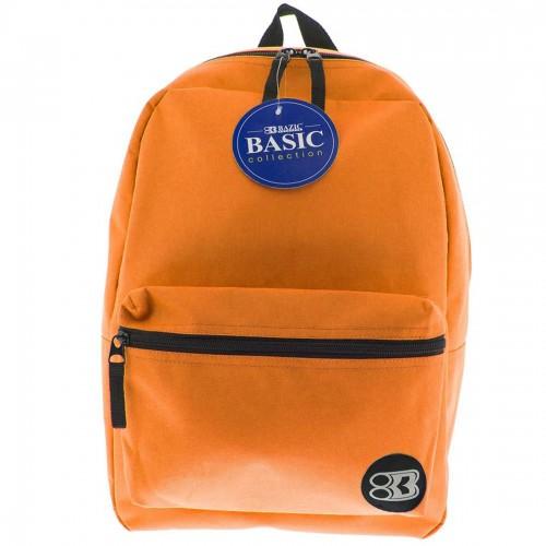 BAZIC 16'' Basic Backpack - Orange