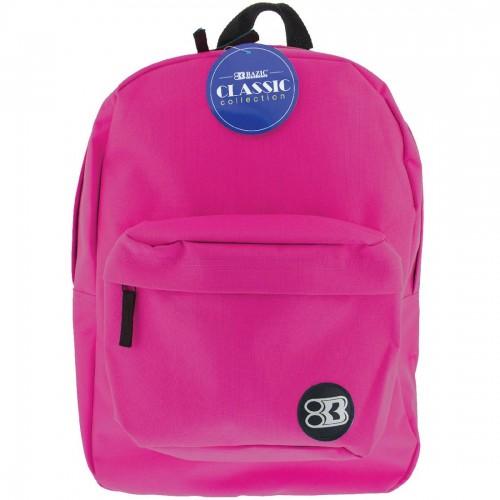 BAZIC Classic Backpack Fuchsia