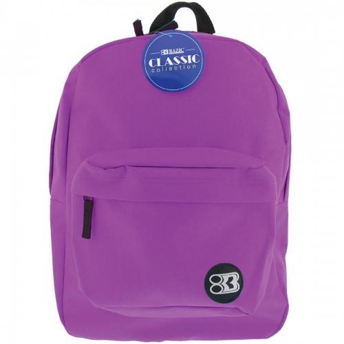BAZIC 17'' Classic Backpack - Purple