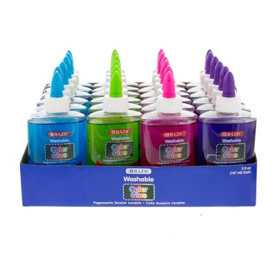 BAZIC Washable Clear Color...