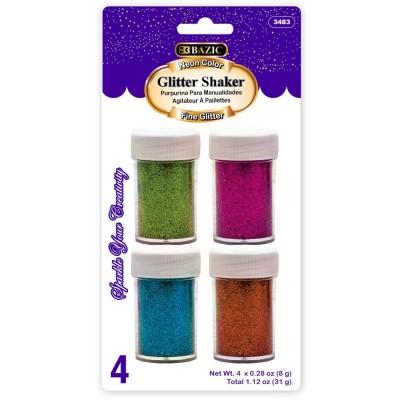 BAZIC 4 Neon Color Gliter...