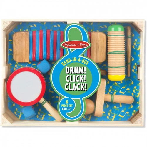Melissa & Doug Band-in-a-Box Drum!...