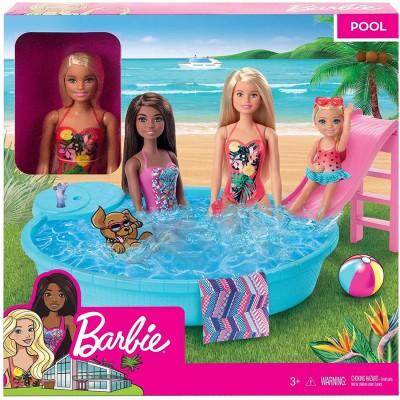 Barbie Blonde Doll Pool...