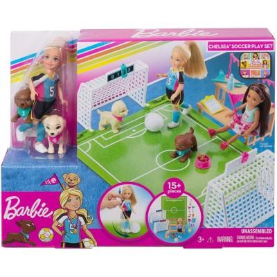 Barbie Chelsea Soccer Playset