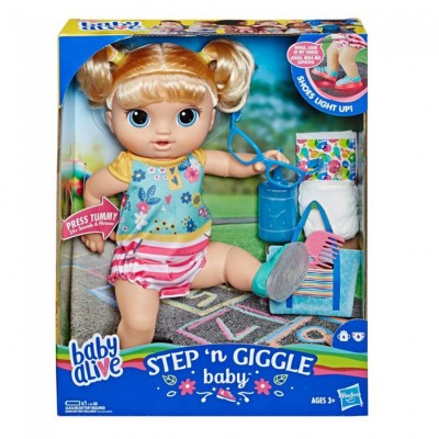 Baby Alive Step And Giggle...